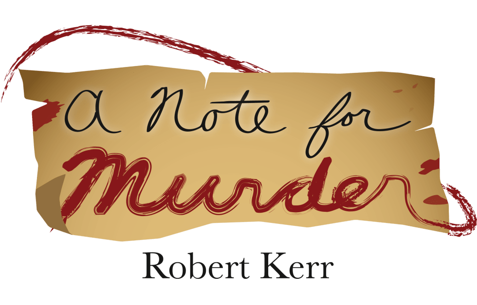 A Note for Murder