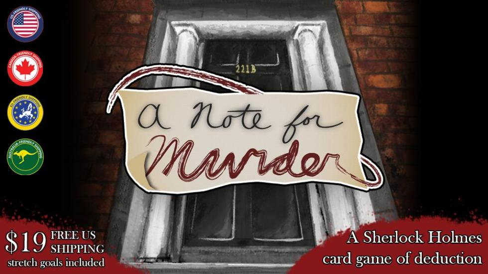 Learn about A Note for Murder - our latest game on Kickstarter