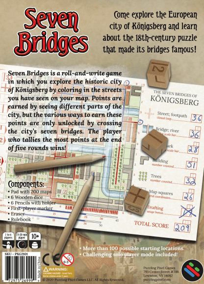 Seven Bridges Back Cover