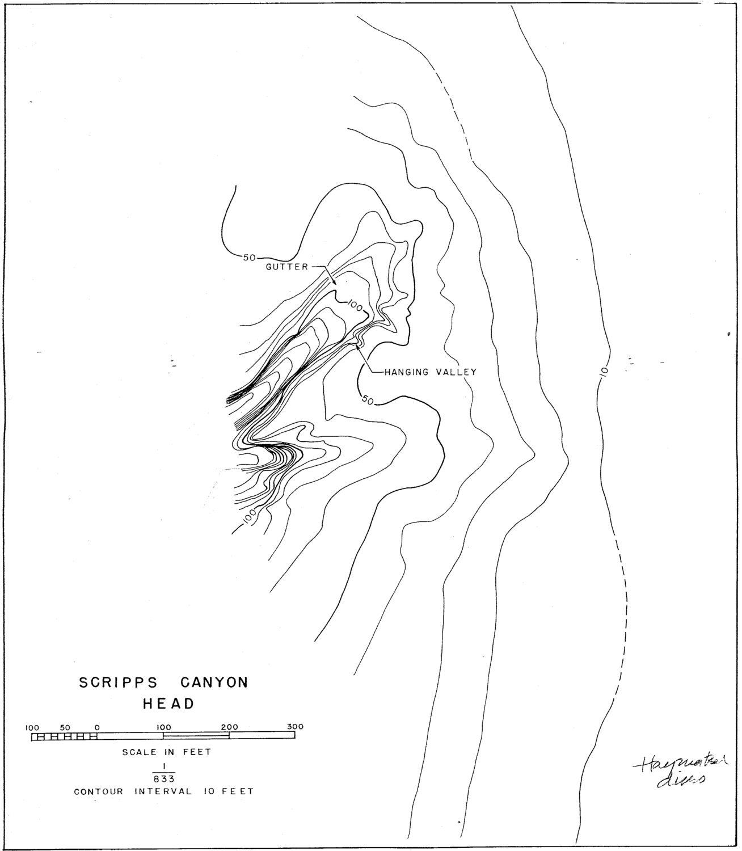 Canyon Maps And Bathymetry
