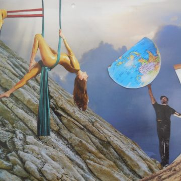 Rehearsal for the End of the World by Judith Ann Nilsen, Collage