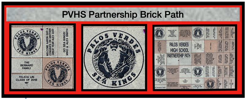 PVHS Booster Club Partnership Brick Path