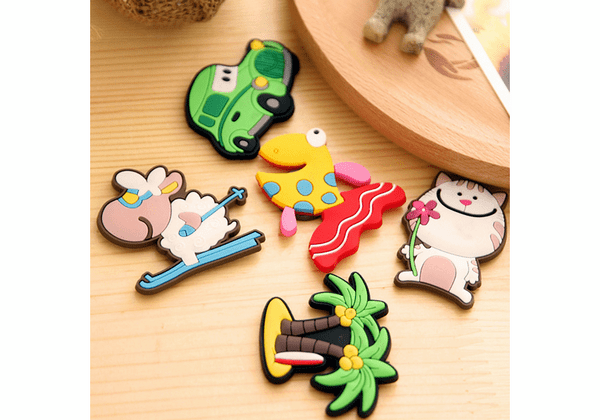 kitchen magnets aid dishwasher cartoon soft pvc refrigerator creations made from eco friendly rubber material can be 2d 3d