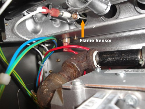 small resolution of clean flame sensor
