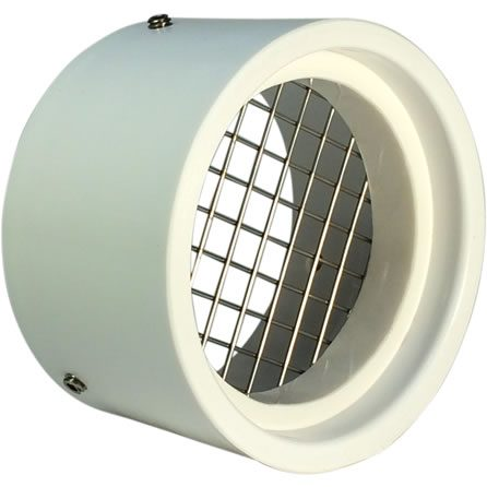 2 pvc vent cap with screen for rodents