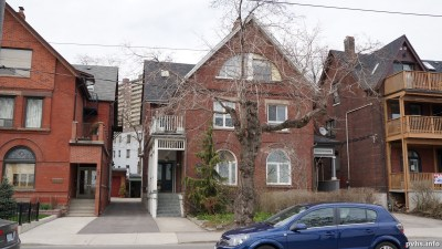 1580 King St W (111) I received an inquiry regards the history of 1580 King St W. The style of the building is Richardson Romanesque celebrating the grand Toronto style of Queens Park and the Old City Hall. This block of houses just east of Roncesvalles, appears on Goads maps after 1903 and before 1910. This dating corresponds with the architectural style. This house may be visible is some of the pictures of Sunnyside Amusement Park.