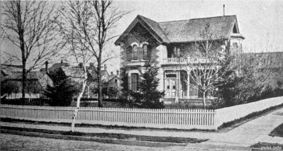 dunn aves Residence of Mr A. W Dodd fromToronto Old and New pub 1881