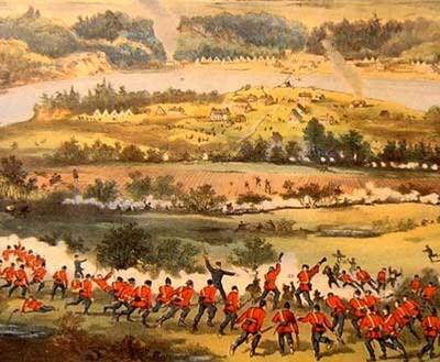 1885 The Battle of Batoche a
