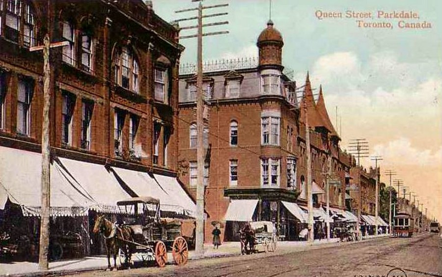 q Queen St W east to Macdonell 1911