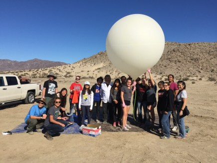Palos Verdes Institute of Technology | PVIT - Space launch November 2015 group photo