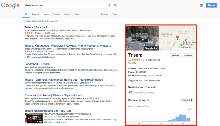 trisara restaurant   Google Search |  SEO |