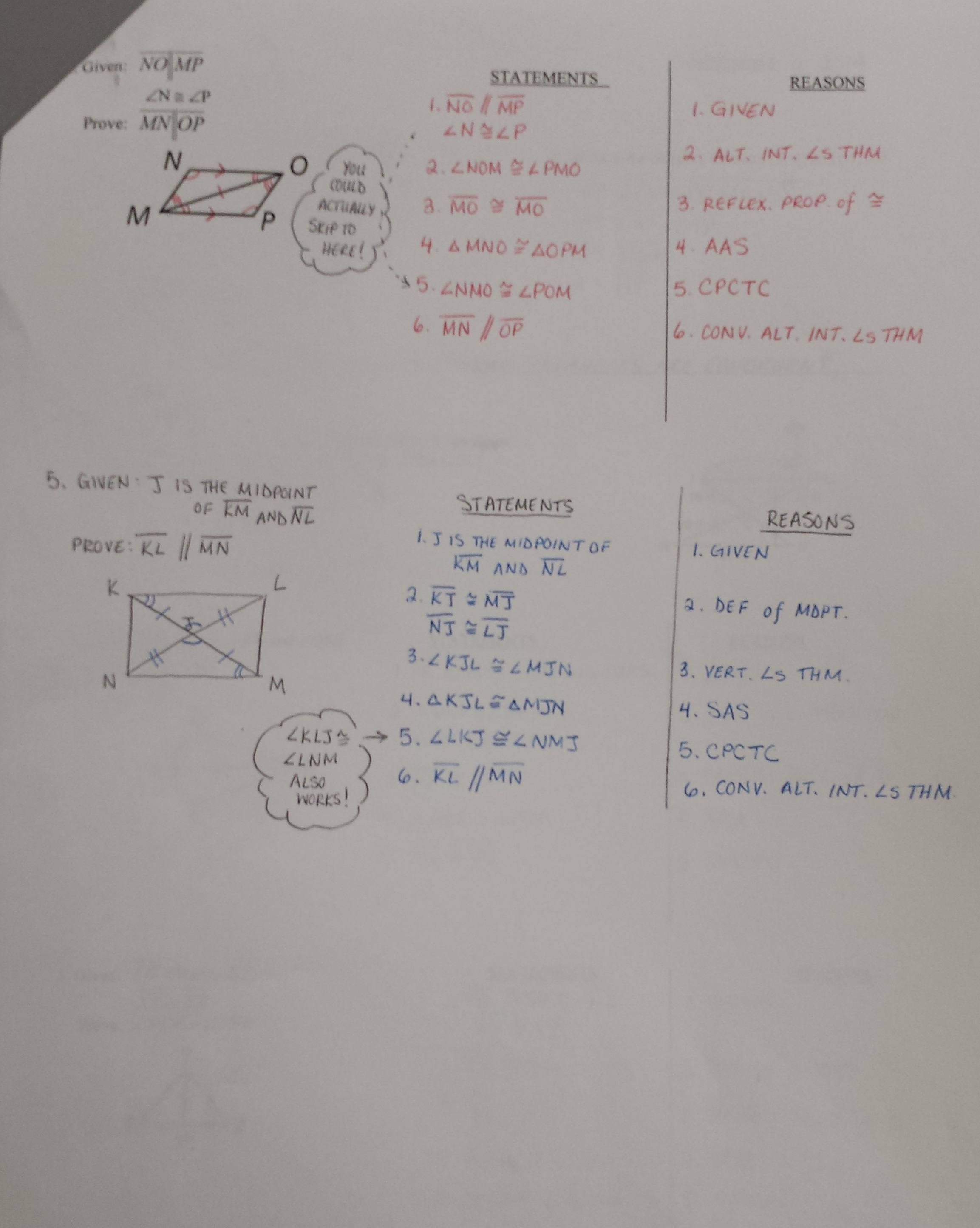 Identifying Congruent Triangles Worksheet