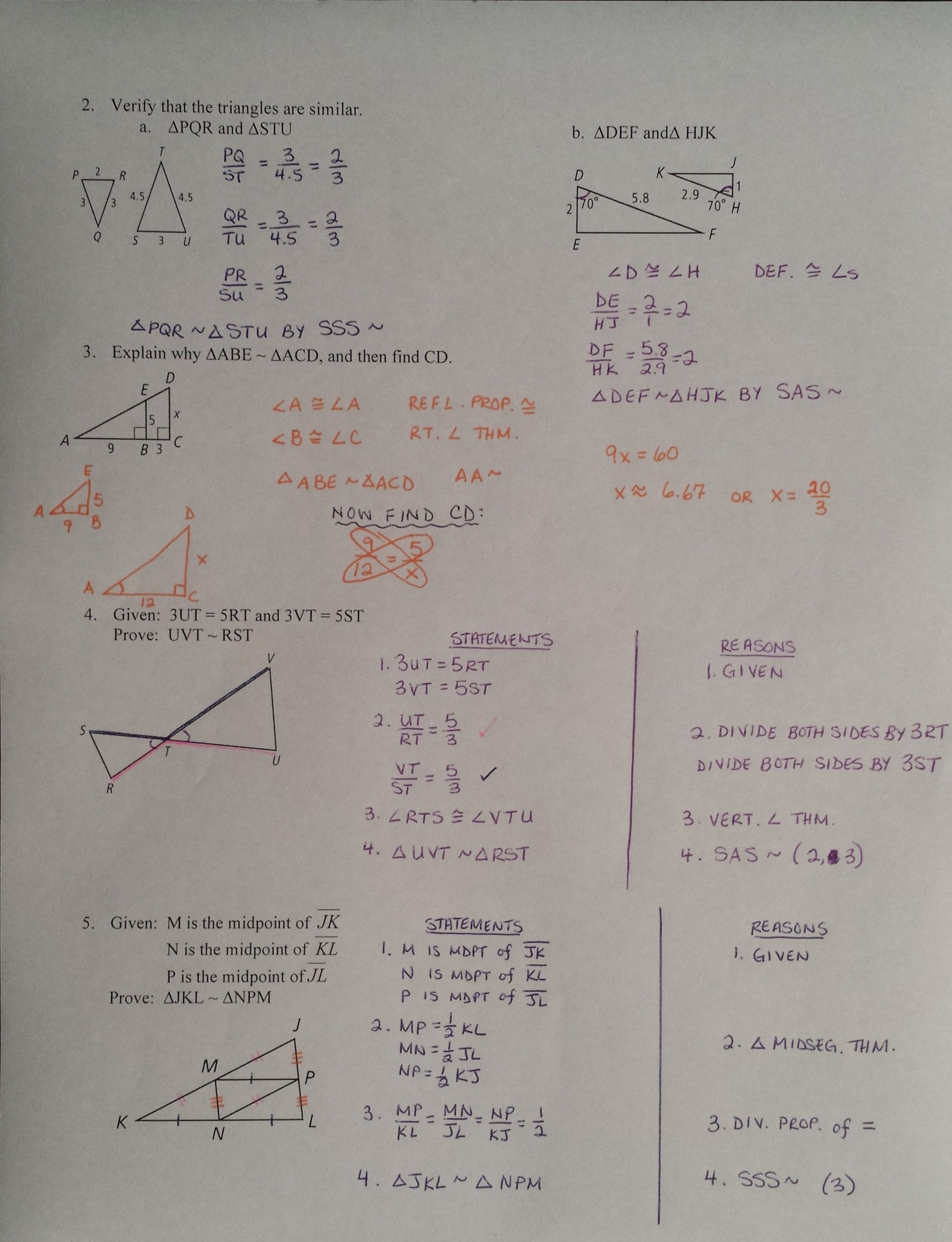 hight resolution of 28 72 Similar Polygons Worksheet Answers - Worksheet Project List