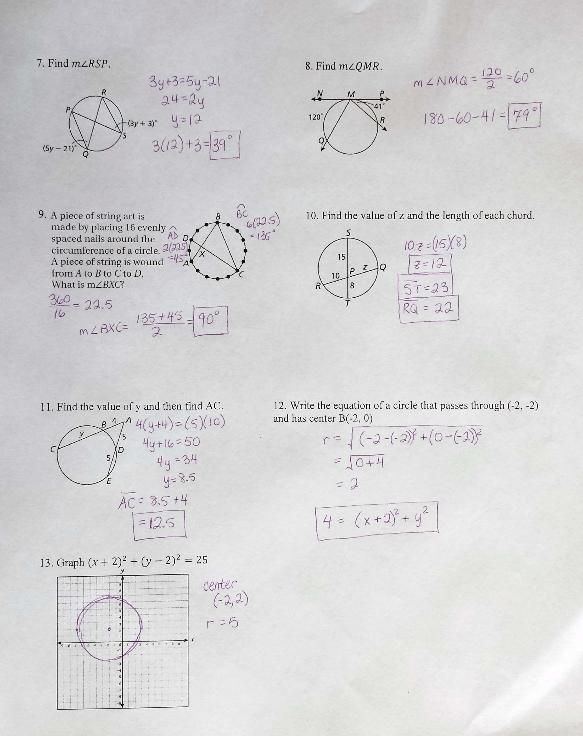 The Best Faceing Math Printable Worksheets
