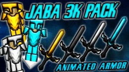 Jaba 3k PvP Texture Pack Animated Armor PvP Texture Pack