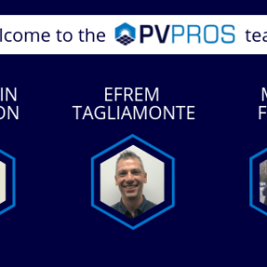 Three Solar All-Stars To Join PV Pros