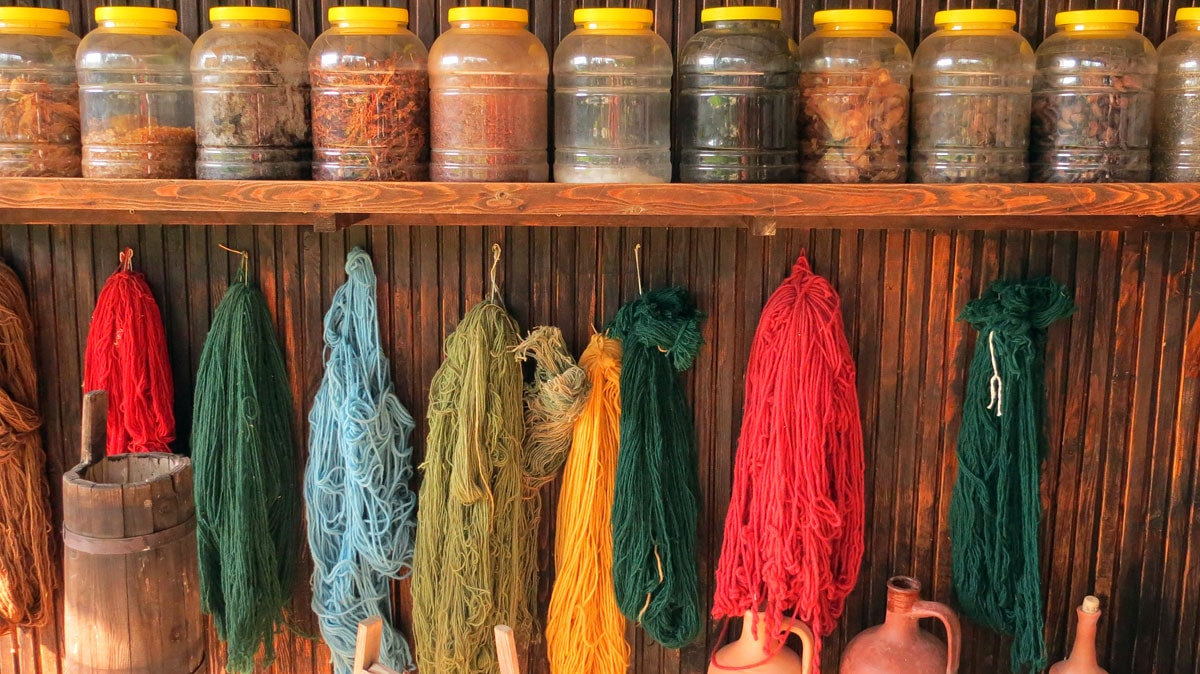 Chrome Dye Rugs