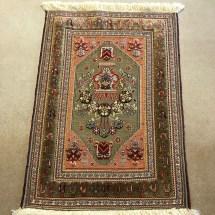traditional-persian-sirjan-rug-dark-gold-overview