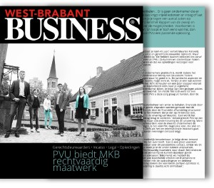 PVU coverstory West Brabant Business