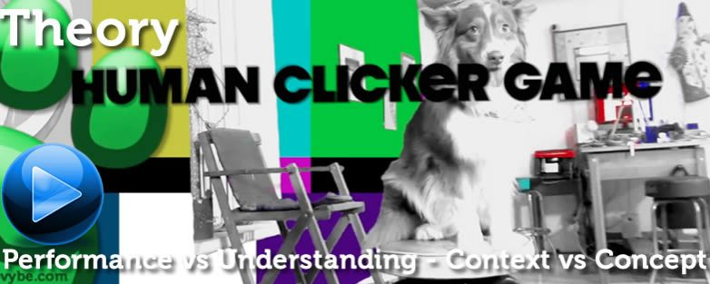 Performance vs Understanding – Human Clicker Game