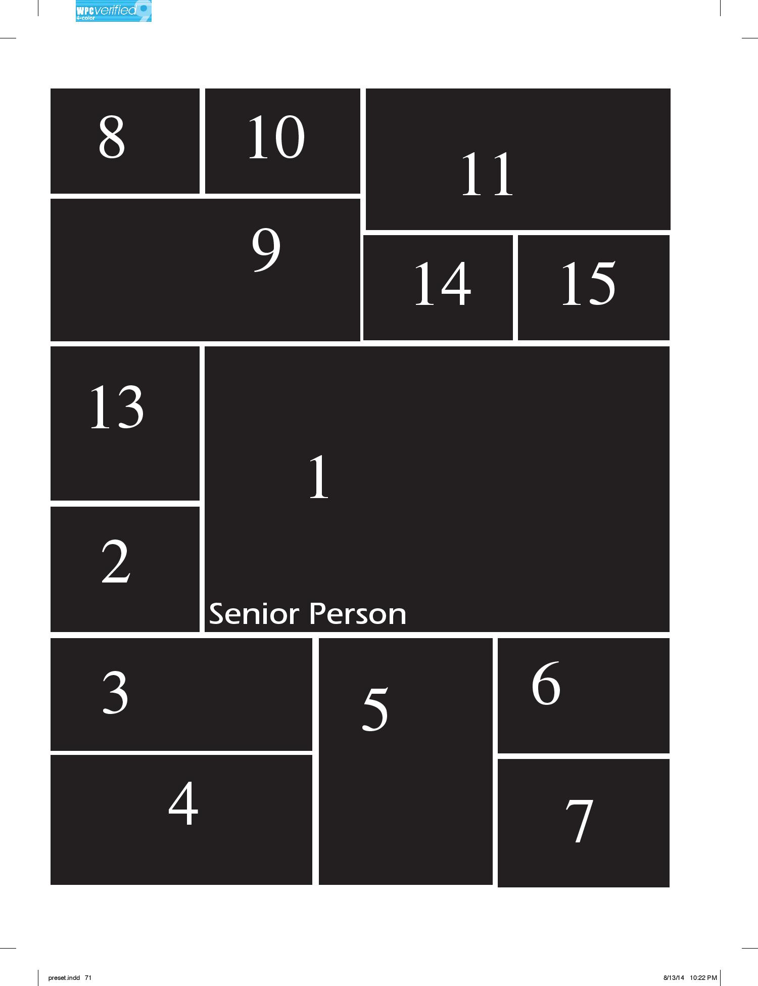 Senior Page Information Amp Layout Font Options The View