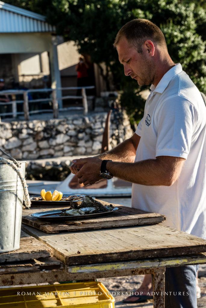Croatian Oyster farm with PhotoWorkshopAdventures