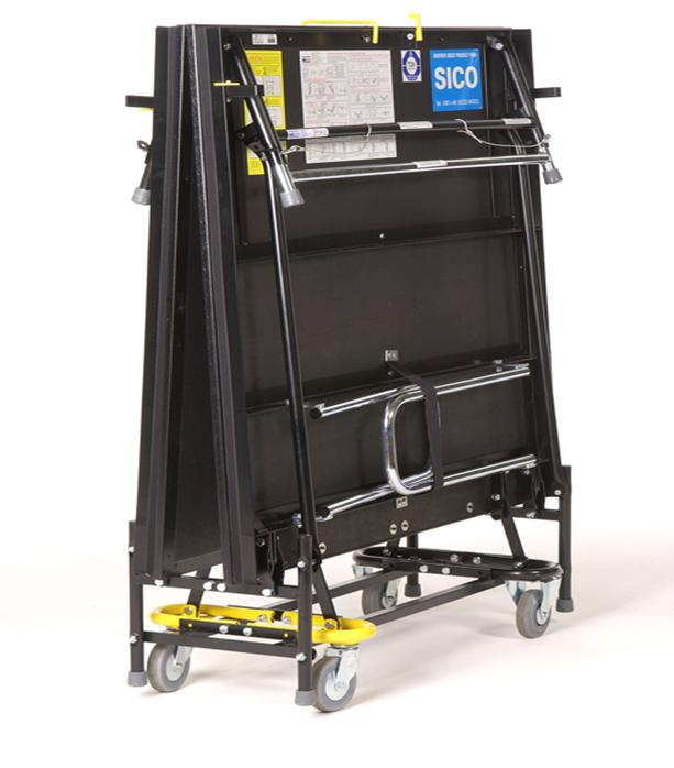 SICO 2000 Series Mobile Folding Stage  Peter Walsh  Sons