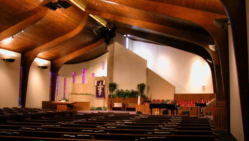 Calvary Baptist Church Sanctuary  PWArchitects Inc