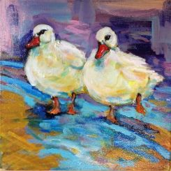 Like ducks to water (sold)