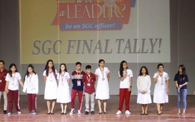 Senior High School completes SGC election