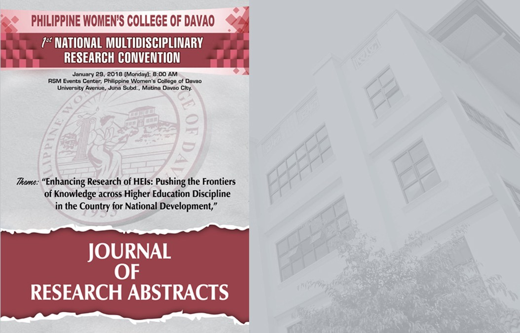 Journal of Research Abstracts
