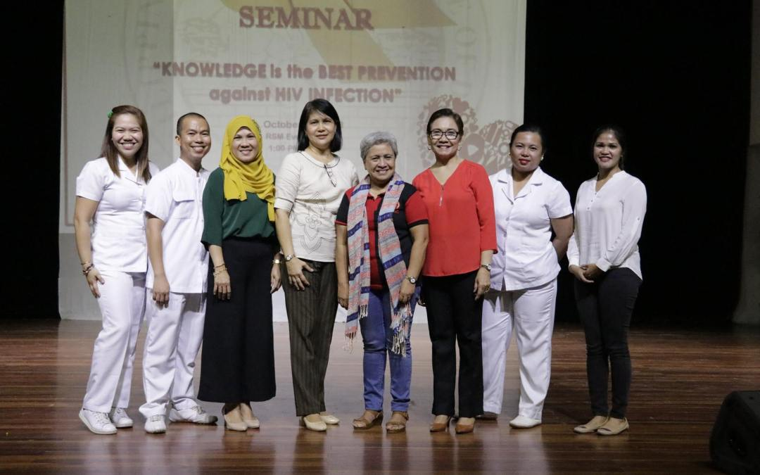 PWC students and staff attend HIV/AIDS Awareness Seminar