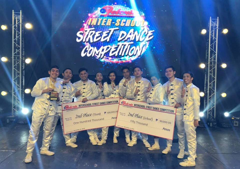 PWC ranks 2nd in street dance competition