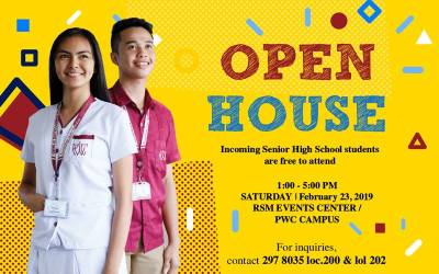 PWC to hold open house event for incoming senior high