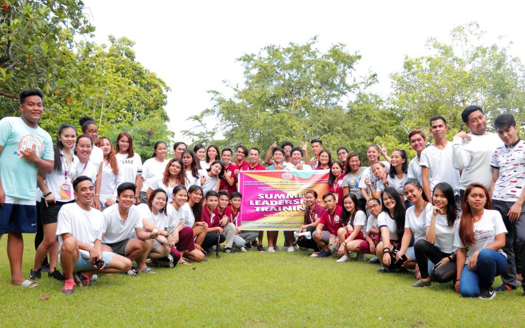 Student leaders join Summer Leadership Training