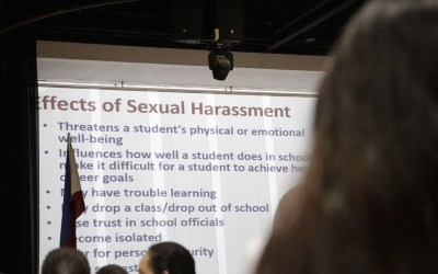 TED students attend seminar on sexual harassment