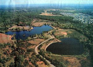 Silver Lake Aerial