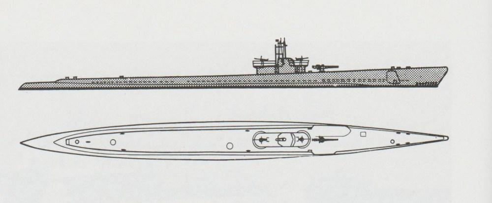 medium resolution of schematic diagram of balao class submarine