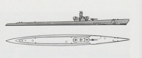 small resolution of schematic diagram of balao class submarine