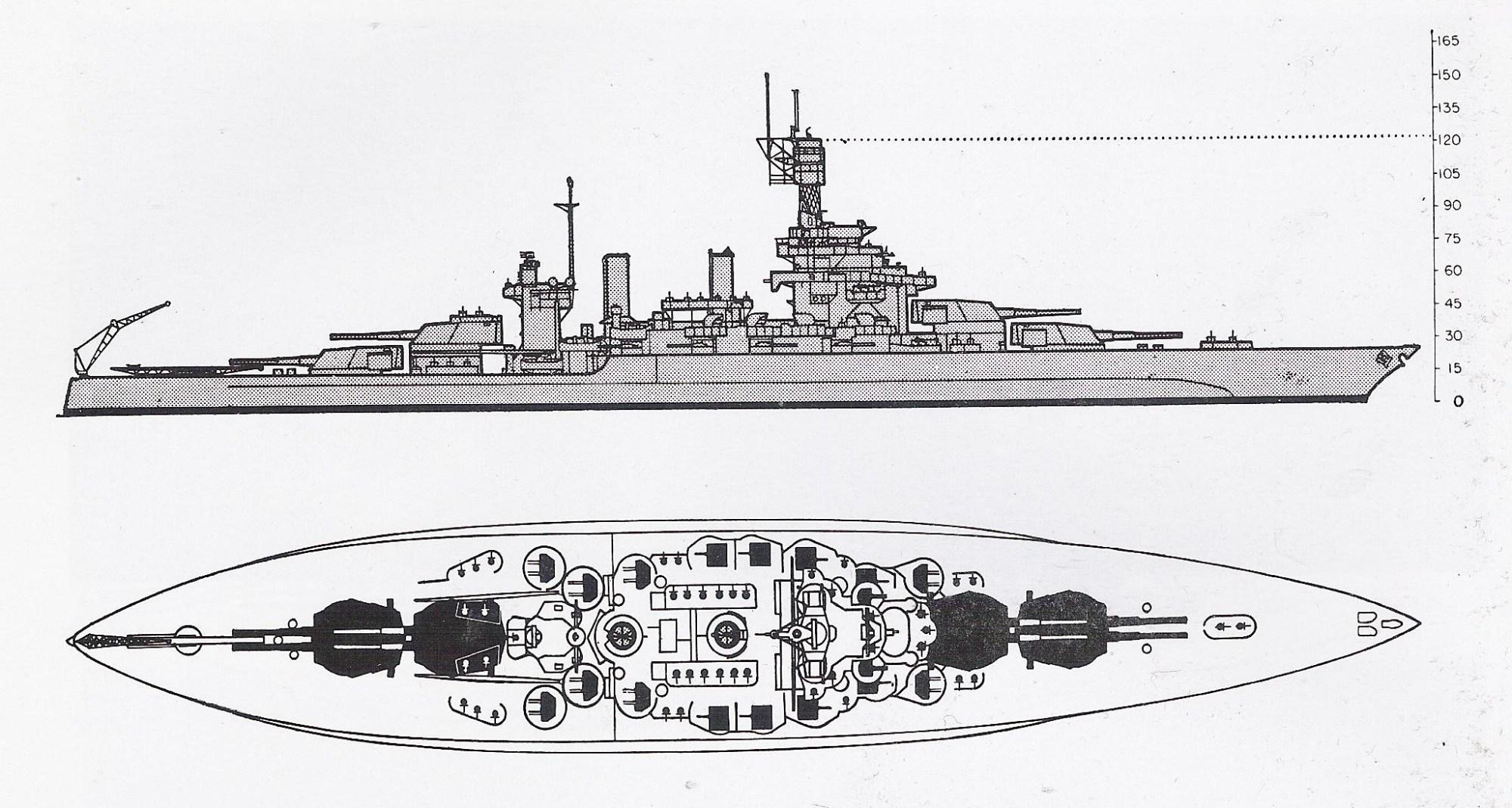 hight resolution of schematic diagram of colorado class battleship