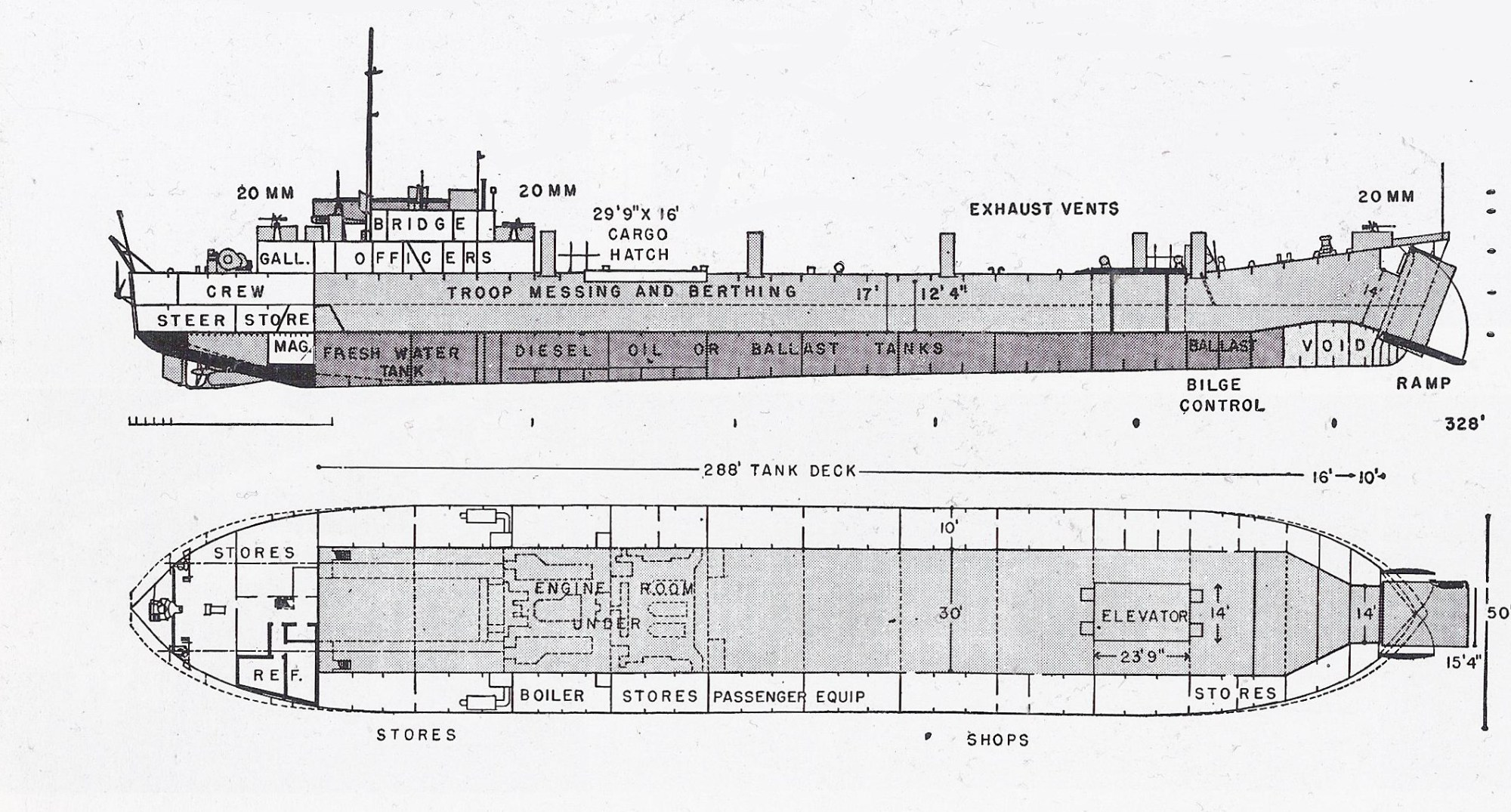 hight resolution of schematic diagram of lst
