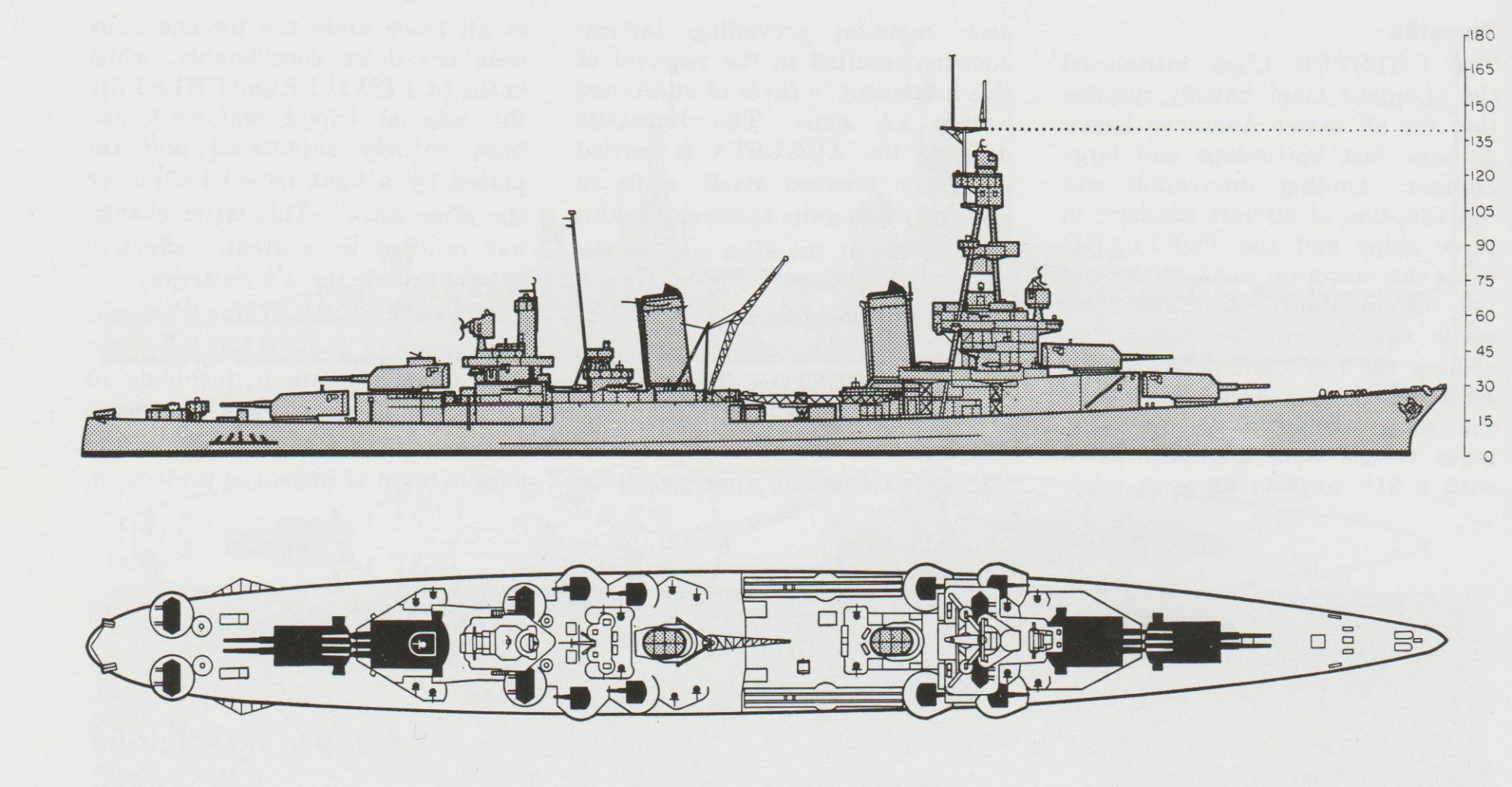 hight resolution of schematic diagram of pensacola class heavy cruiser