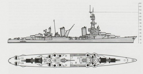 small resolution of schematic diagram of pensacola class heavy cruiser