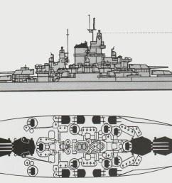 iowa class battleship armor diagram the pacific war online encyclopedia tennessee class u s [ 2054 x 1080 Pixel ]