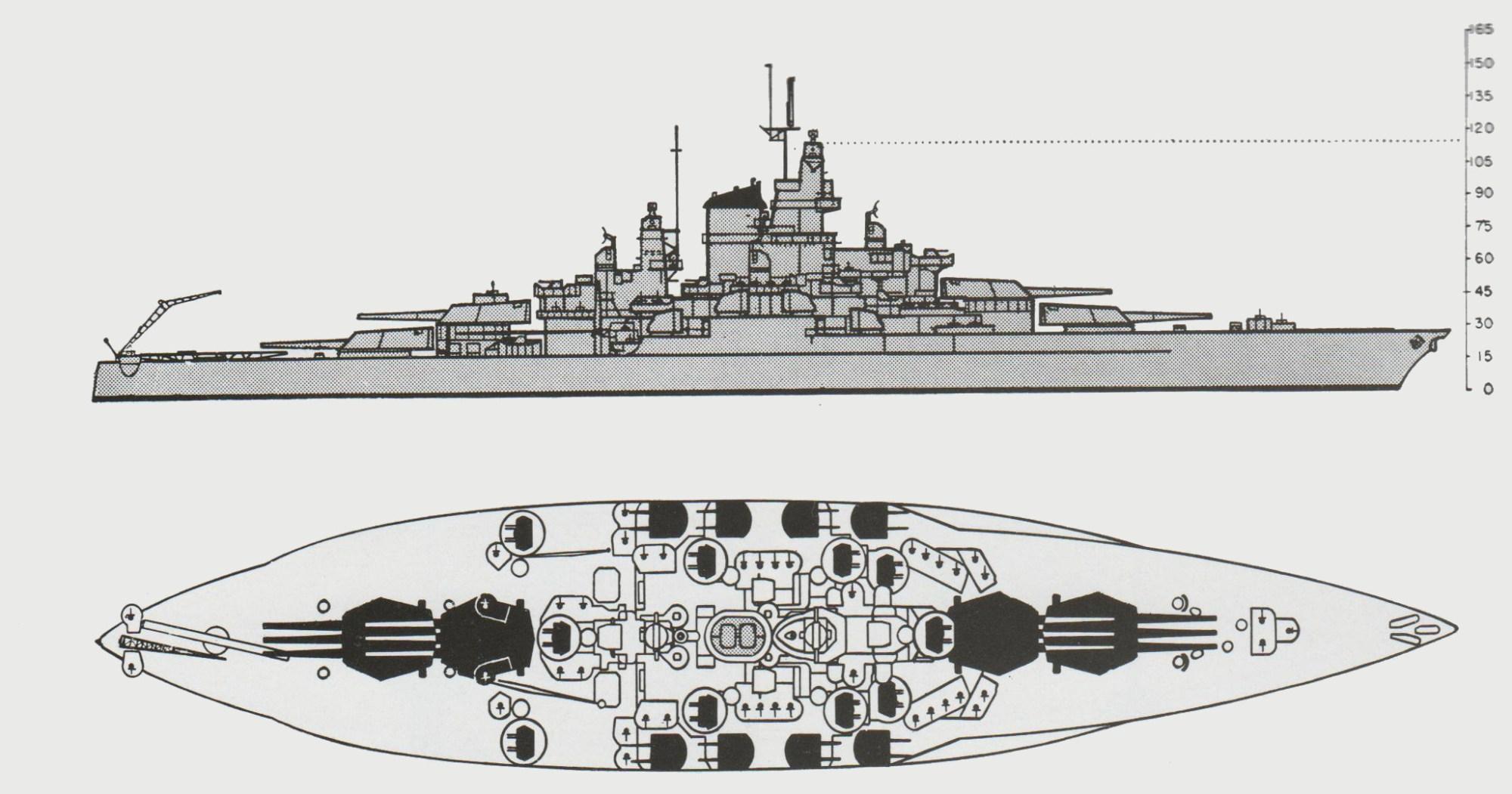 hight resolution of  iowa class battleship armor diagram the pacific war online encyclopedia tennessee class u s