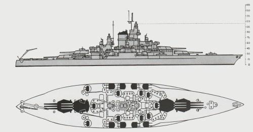 small resolution of  iowa class battleship armor diagram the pacific war online encyclopedia tennessee class u s
