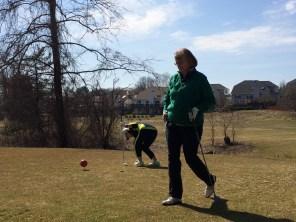Winter golf @ Pinecrest