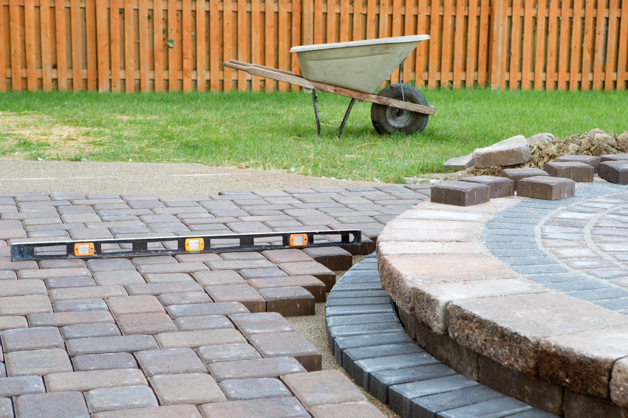 choose brick paving for patios
