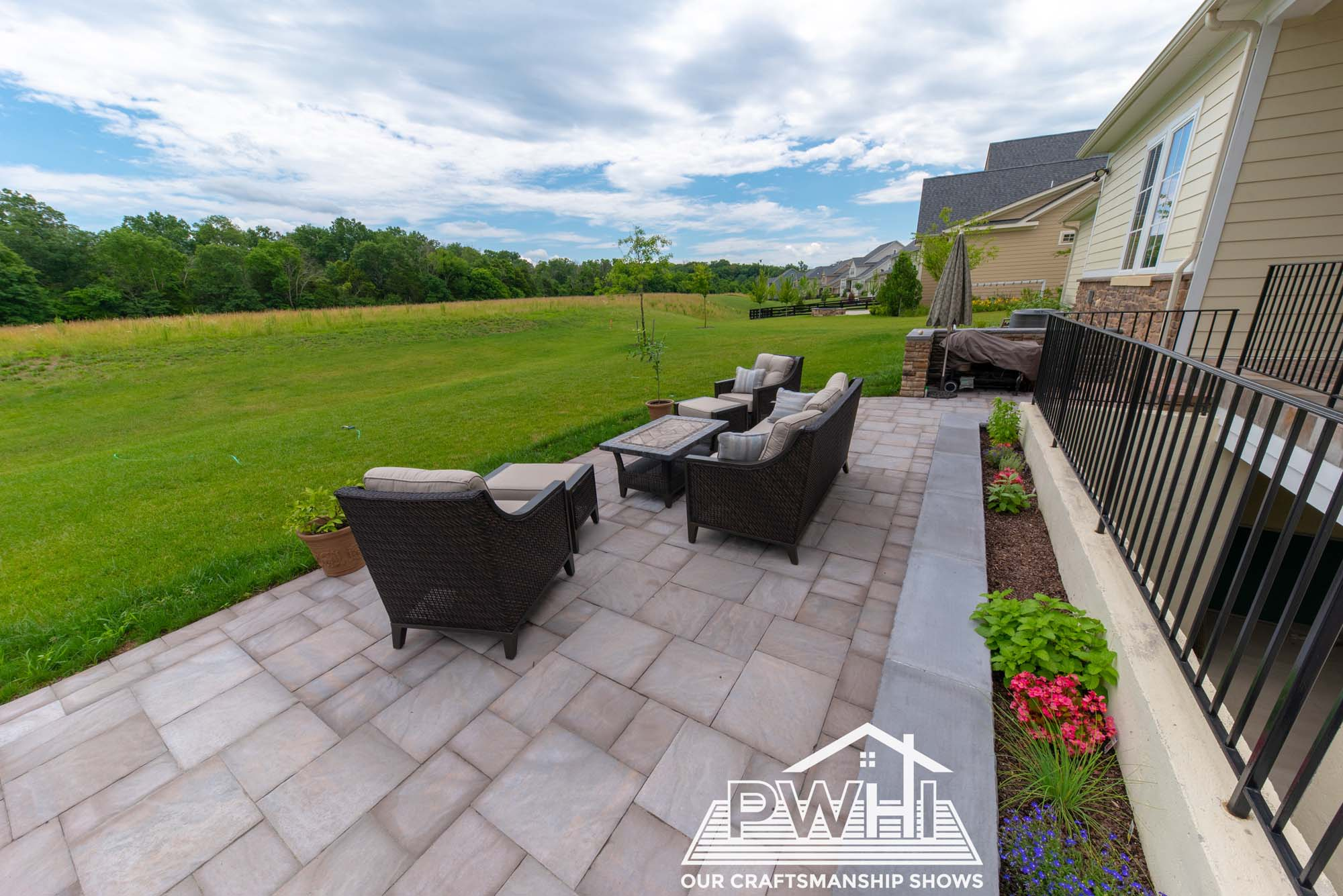 which is better stamped concrete or pavers pwhi