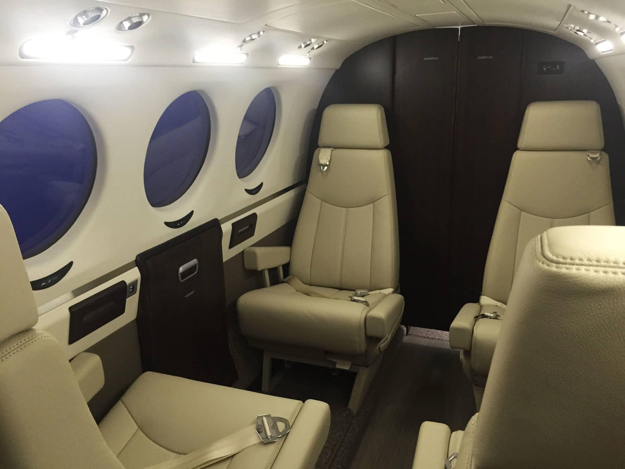 LED King Air 250 Upgrade PWI